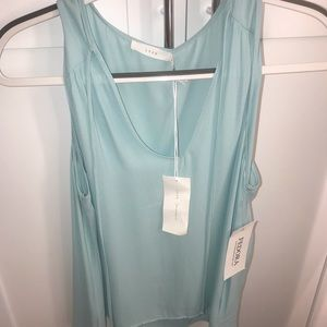 Lush silk top new with tags